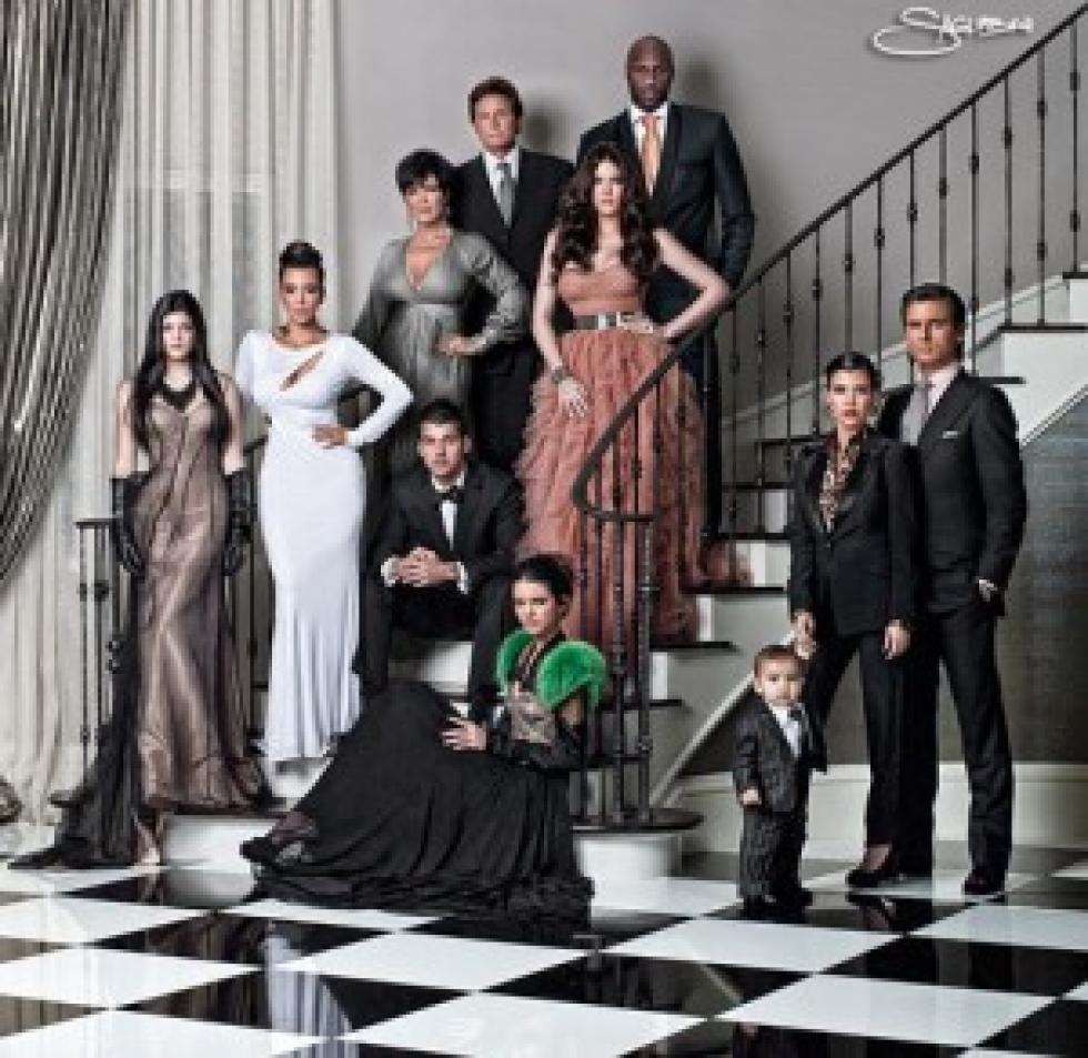 Kardashian family christmas card why are they famous m4hsunfo