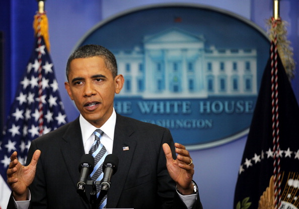 Obama Holds News Conference on Credit Downgrade