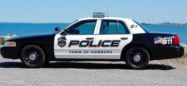 Town of Hamburg Police Car