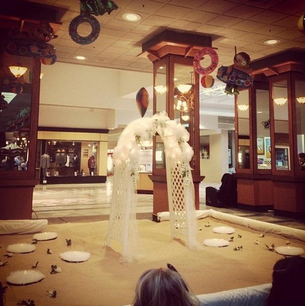 Eastern Hills Mall Wedding