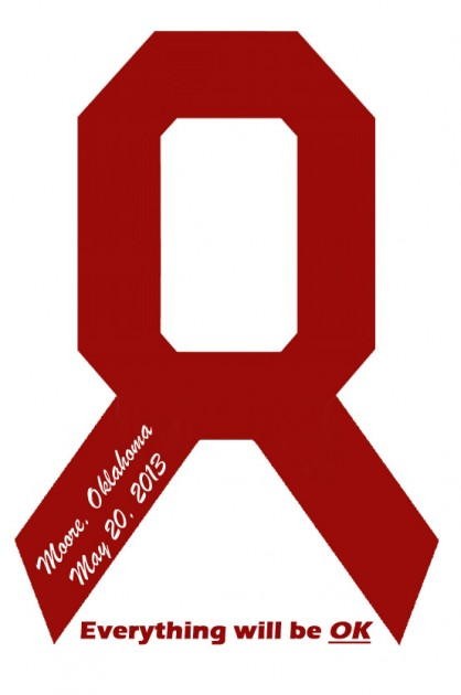 Oklahoma ribbon